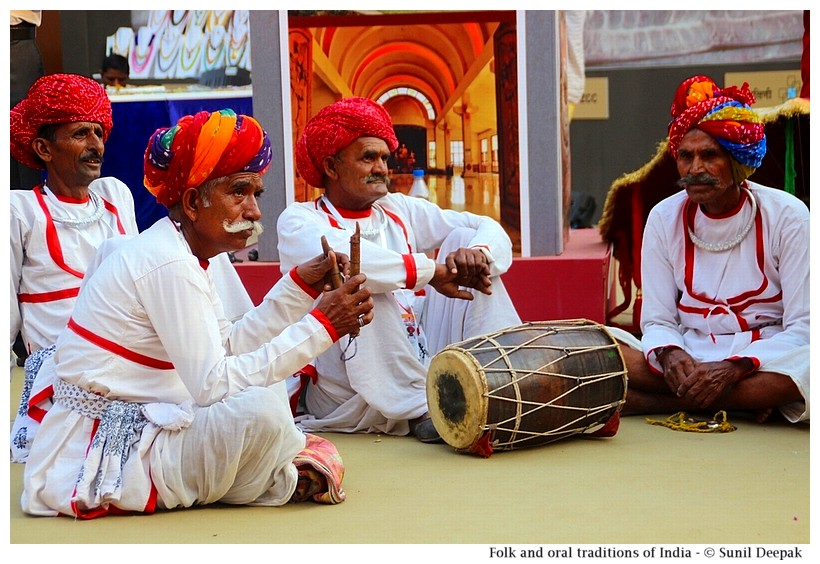 Folk and oral traditions, India - Images by Sunil Deepak