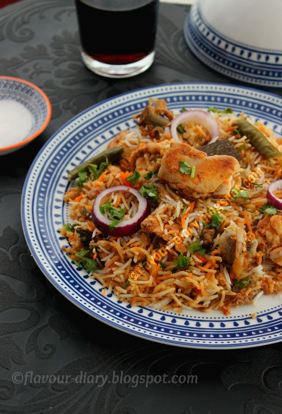 Chicken Dum Biryani hyderabadi style