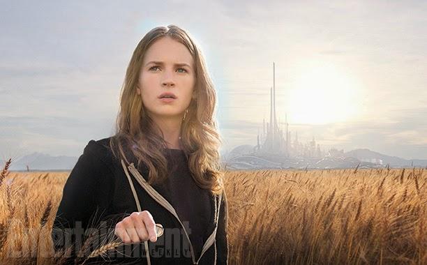 Tomorrowland movie sci-fi Disney