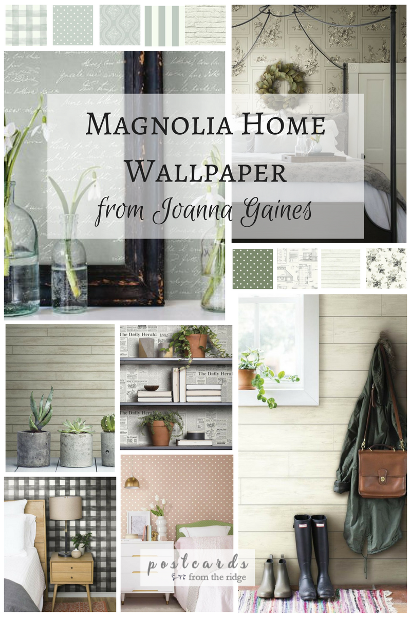 Add Some Wow to Your Walls with Joanna Gaines\' New Wallpaper ...