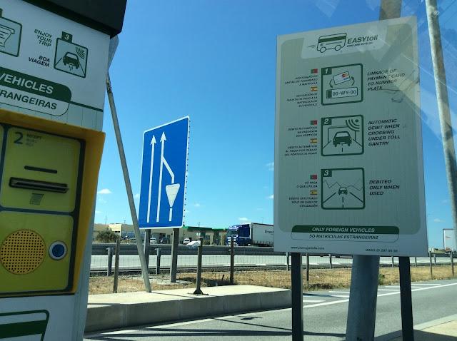 Toll roads in Portugal