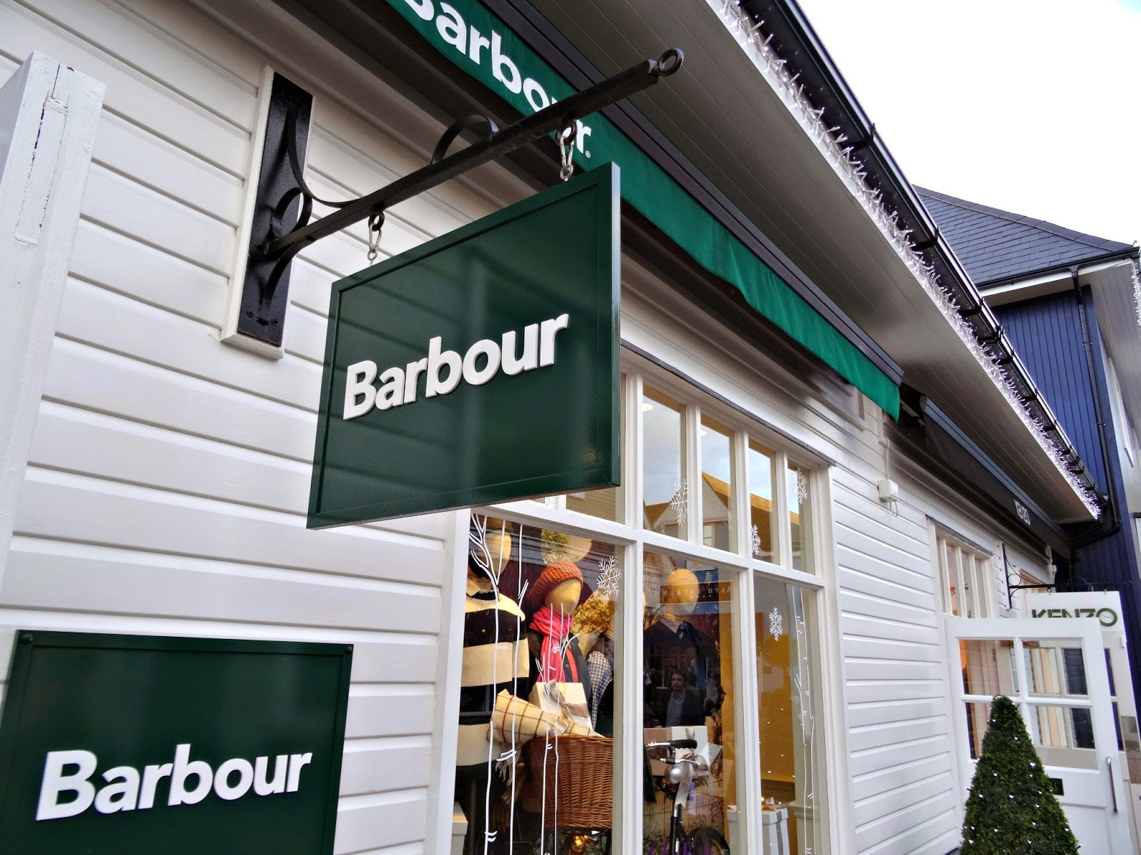 Barbour Shop at Bicester Village