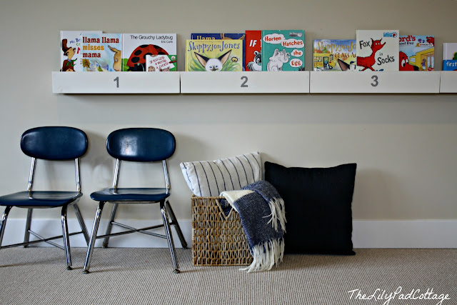bookshelf DIY