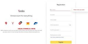 Create Yandex Mail | Sign Up Yandex Mail | Yandex Mail Registration @yandex.com