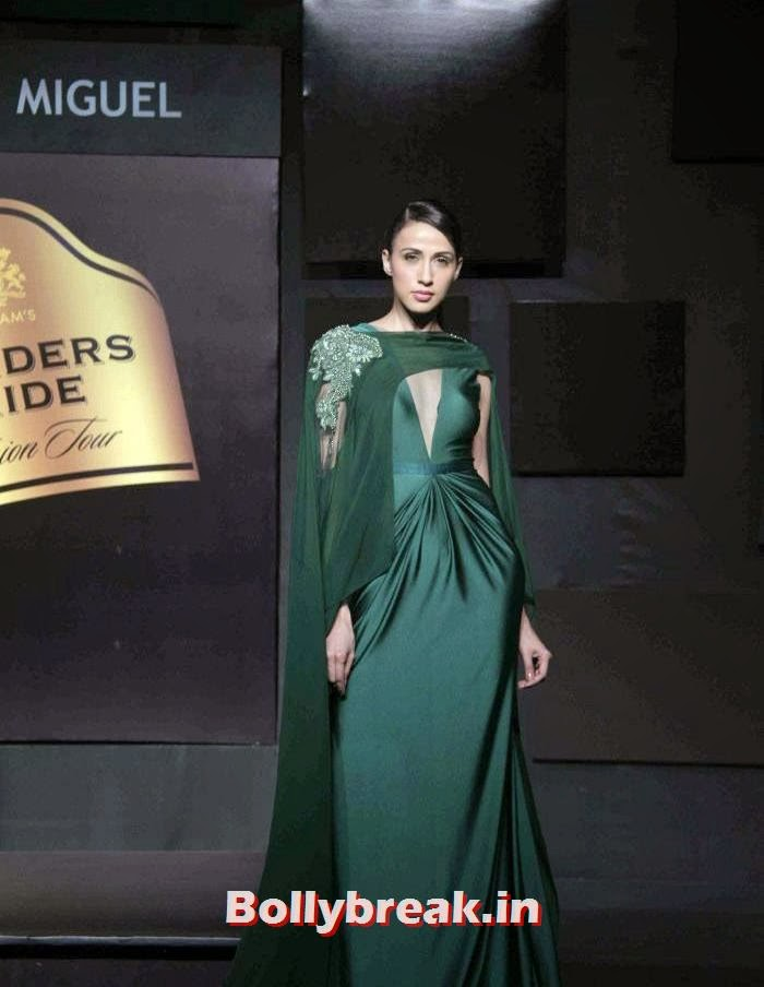 Alesia Raut, Gavin Miguel Show at Blenders Pride Fashion Tour 2013