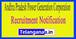 Andhra Pradesh Power Generation Corporation APGENCO Recruitment Notification 2017