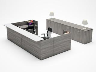 Cherryman Amber Reception Desk