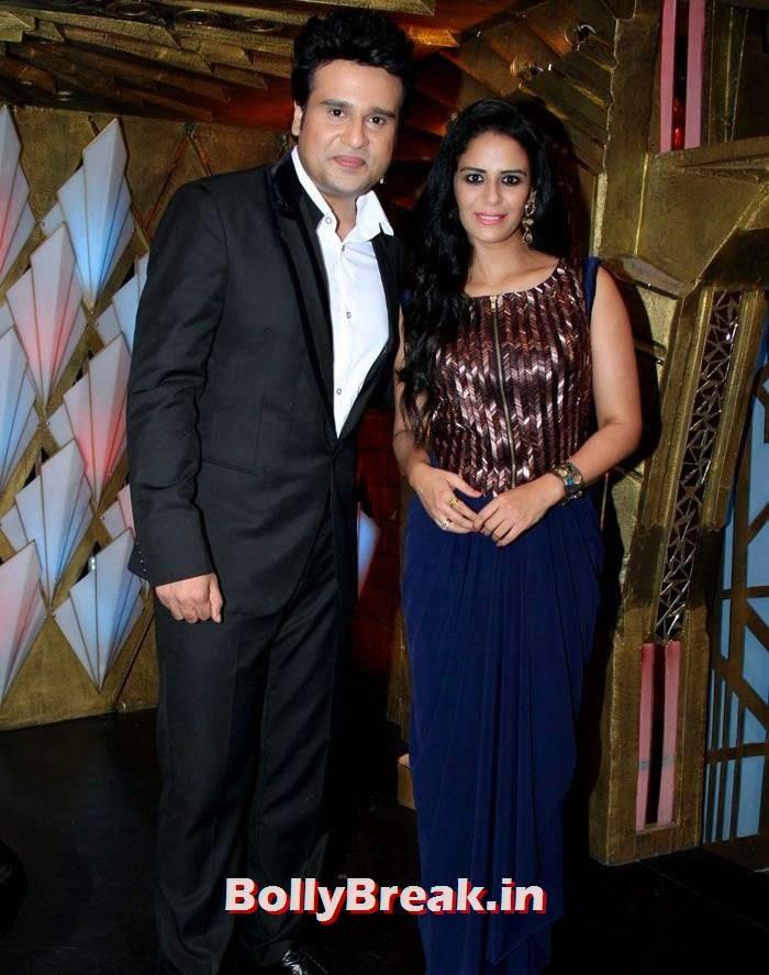 Krishna Abhishek, Mona Singh, Sonam Kapoor in Amazing Dress - Pics from EKLKBK