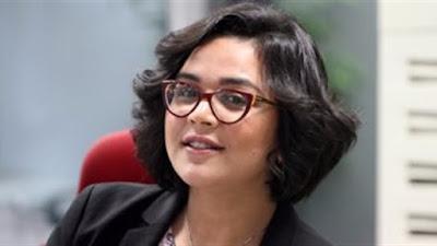 الصحفية مي الشامي