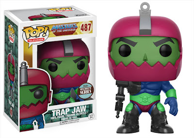 Specialty Series Exclusive Masters of the Universe Trap Jaw Pop! Figure by Funko