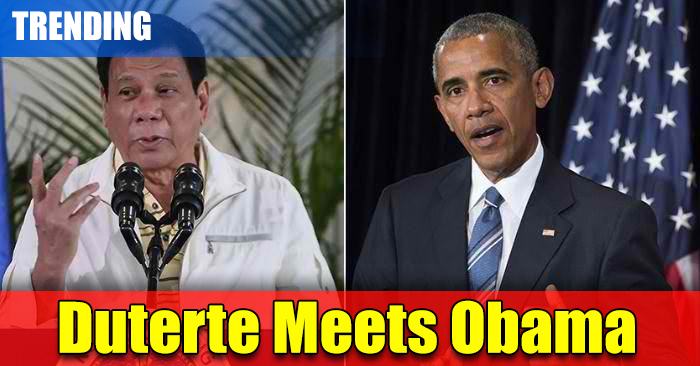 LOOK: Duterte Finally Meets Obama. Find Out?