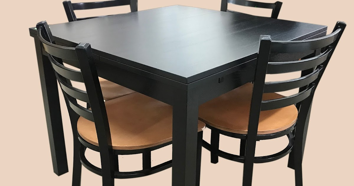 Uhuru Furniture Collectibles Dining Table 4 Chairs 150 Sold