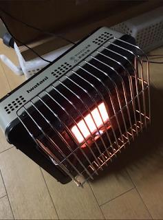 イワタニ ポータブル ガスヒーター CB-CGS-PTB