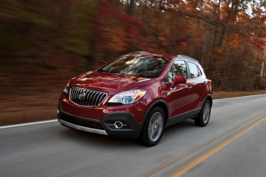Car Review Buick Encore 1.4L Turbo FWD