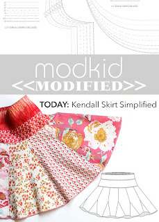 Modkid Kendall Skirt Simplified