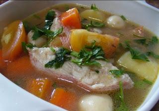Resep Masakan Sop Ikan Kakap Gurih Lezat Dan Sederhana