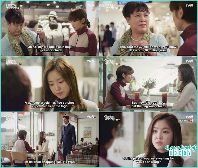 hye ji help ha won and get to knw she is living in sky house - Cinderella and 4 Knights - Episode 3 Review