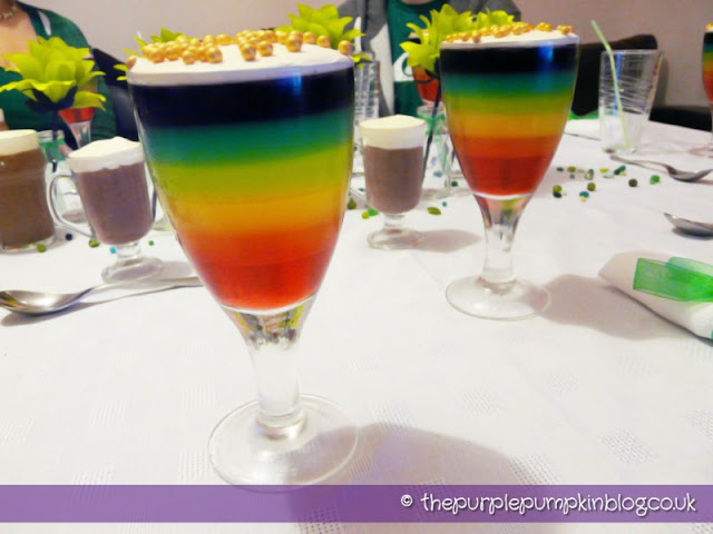 End of the Rainbow Pudding – St. Patrick's Day Dinner Party