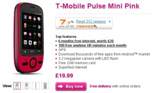 View PowerPoint Presentation on T-Mobile Pluse Mini - The Cheapest