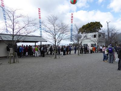 成田山節分祭 無料福豆の行列