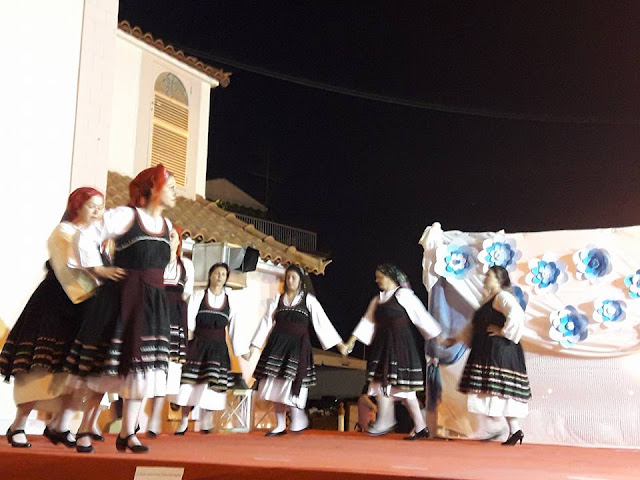 Υπέροχη χορευτική παράσταση στο Δρέπανο