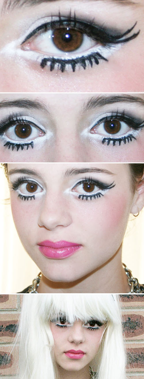 Simple Make Up Tricks To Get Huge Anime Cartoon Eyes Now Thats Peachy