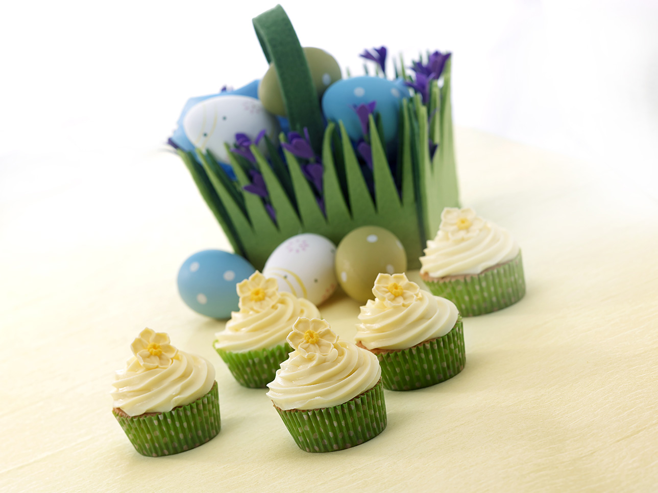 Daffodil Cupcakes: Spring Baking With The Children