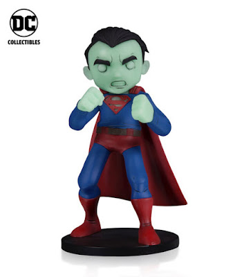 BoxLunch Exclusive DC Comics Artists Alley Glow in the Dark Variant Vinyl Figures by Chris Uminga – Superman