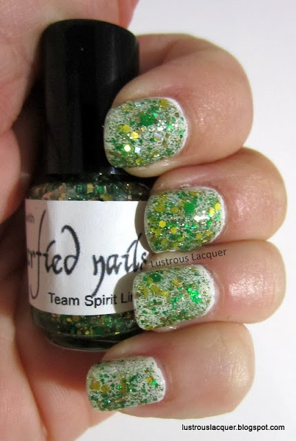 Glitterfied Nails Astro Turf