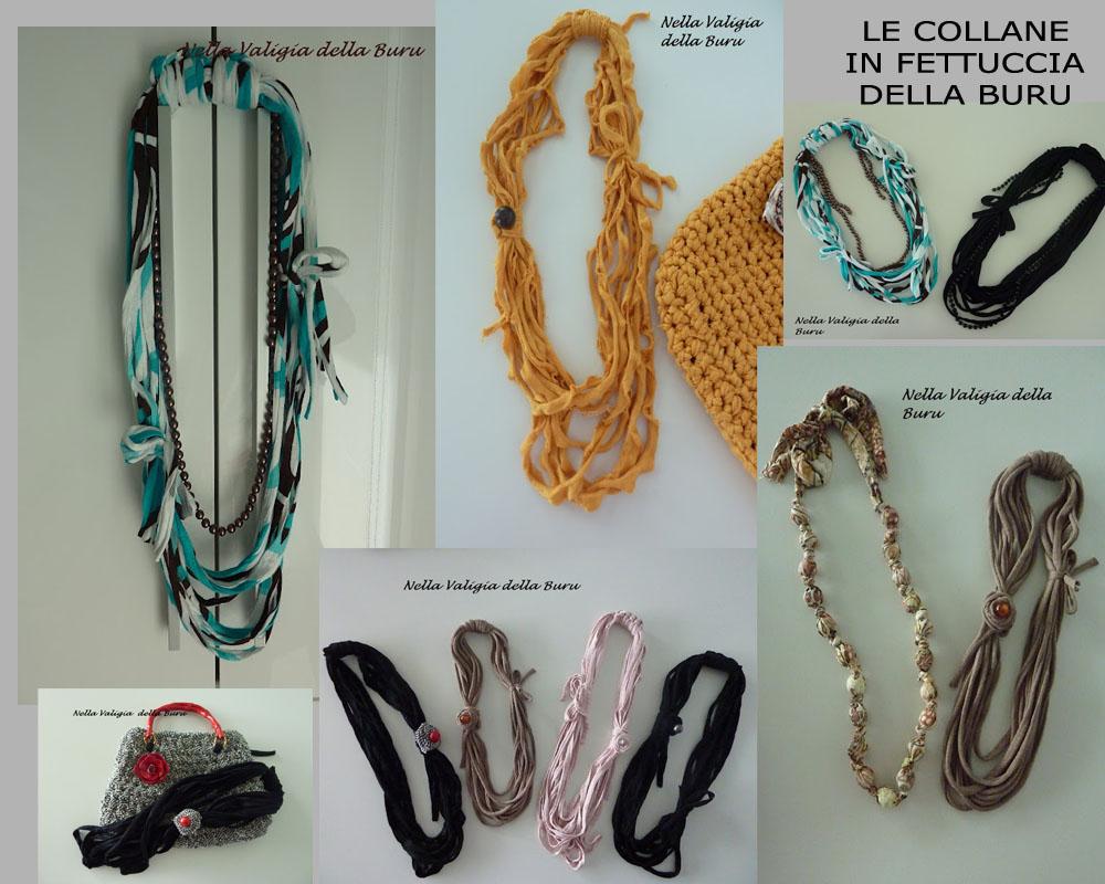 molti stili nuovo concetto anteprima di Nella valigia della Buru: TUTORIAL COLLANA IN FETTUCCIA - Come ...