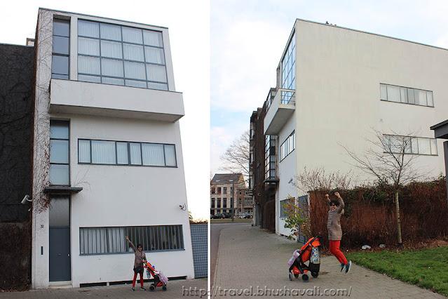 UNESCO Le Corbusier Architecture - Maison Guitte, Antwerpie