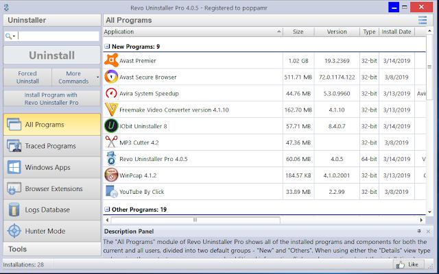 Revo Uninstaller Pro v.4.0.5 +key