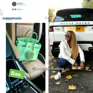 Heartbroken Billionaire Daughter DJ Cuppy Replaces Boyfriend With Handbag