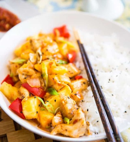 Pineapple Chicken!
