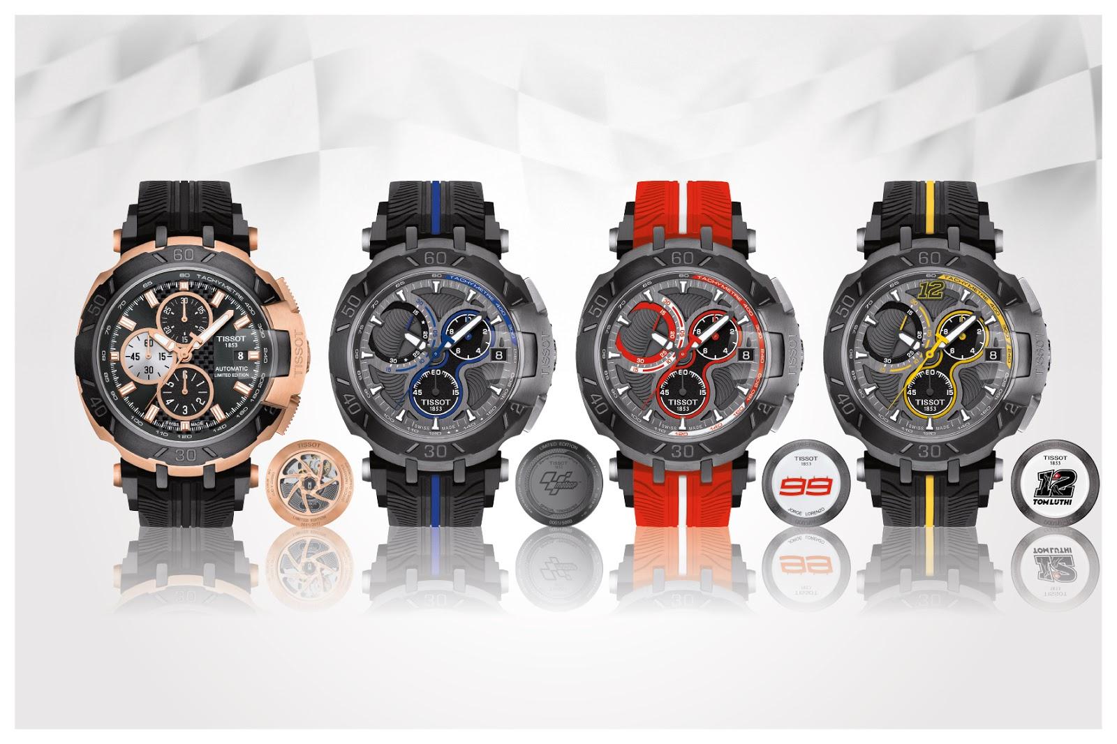 26a31d4c81b Estação Cronográfica  Relógios Tissot lançam T-Race MotoGP™ Limited ...