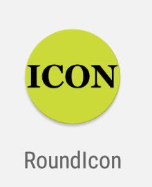 round launcher icon