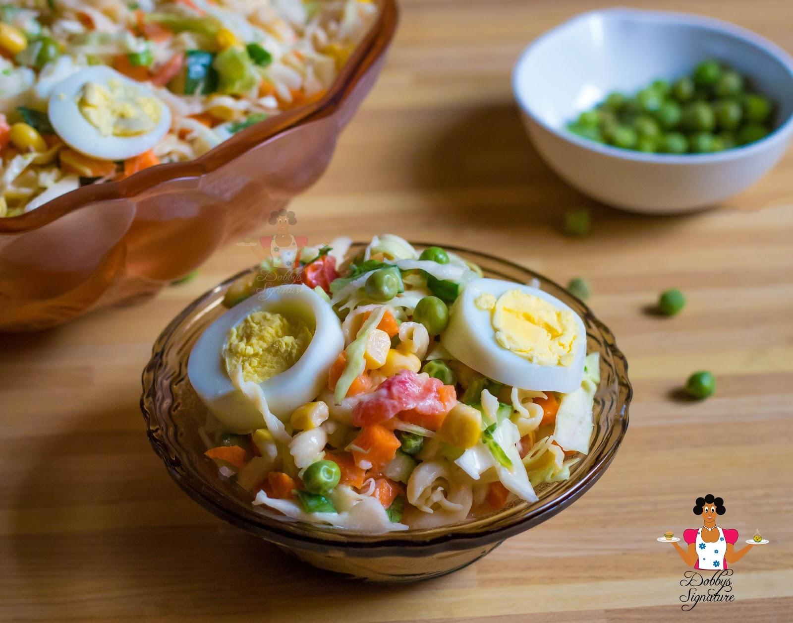 Dobbys signature nigerian food blog i nigerian food recipes i vegetable salad recipe forumfinder Image collections
