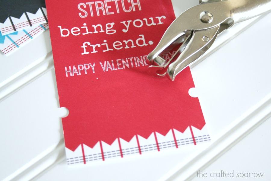 Loom Band Printable Valentine