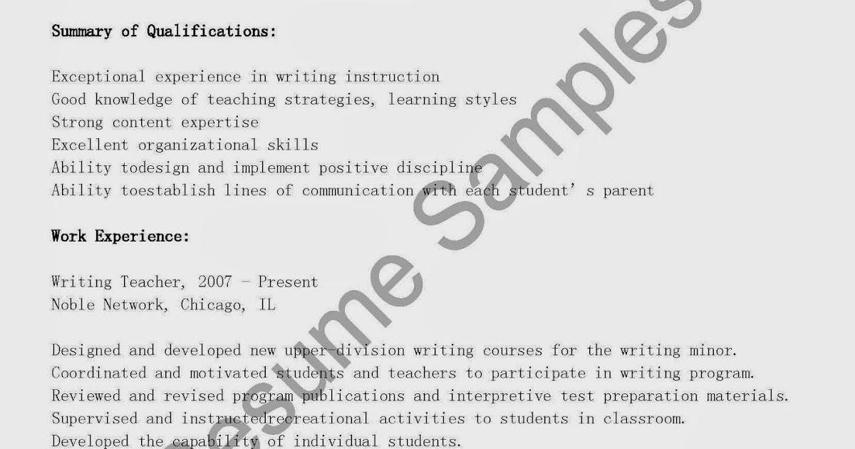 Real-Time Automated Essay Writing? - Lingua Franca - Blogs - The - how to write a teaching resume