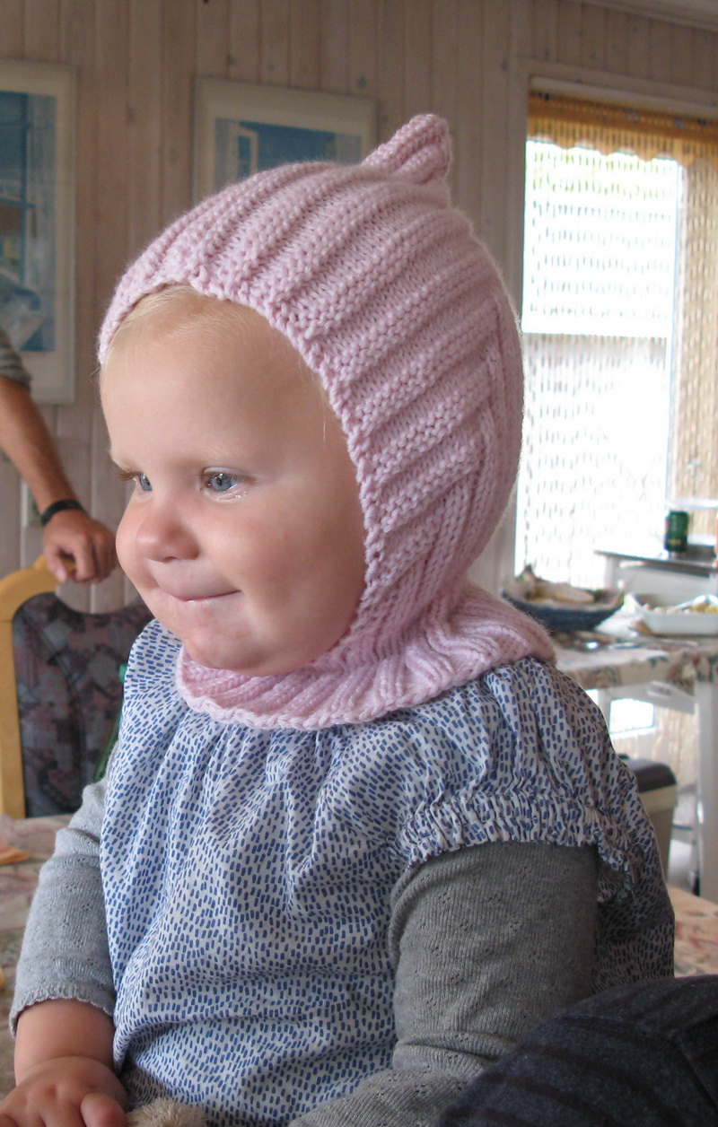 strikket pixie hue