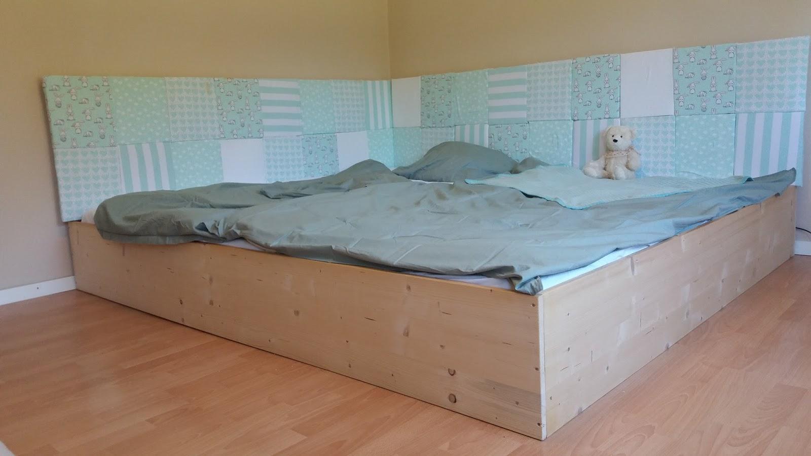 kleine mami unser familienbett diy. Black Bedroom Furniture Sets. Home Design Ideas