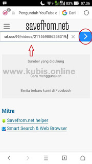 cara download video facebook online