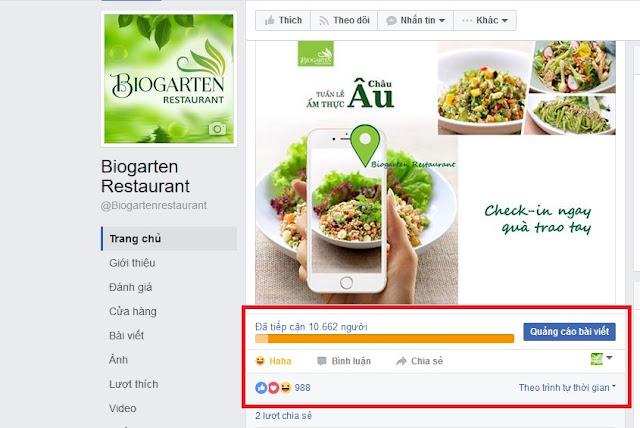 dịch vụ quảng cáo facebook giá rẻ uy tín tphcm