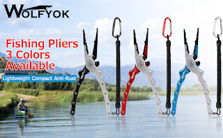 Wolfyok Aluminum Fishing Pliers