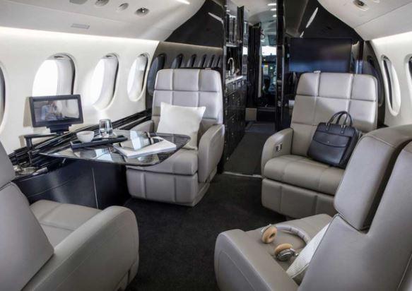 Dassault Falcon 8X interior