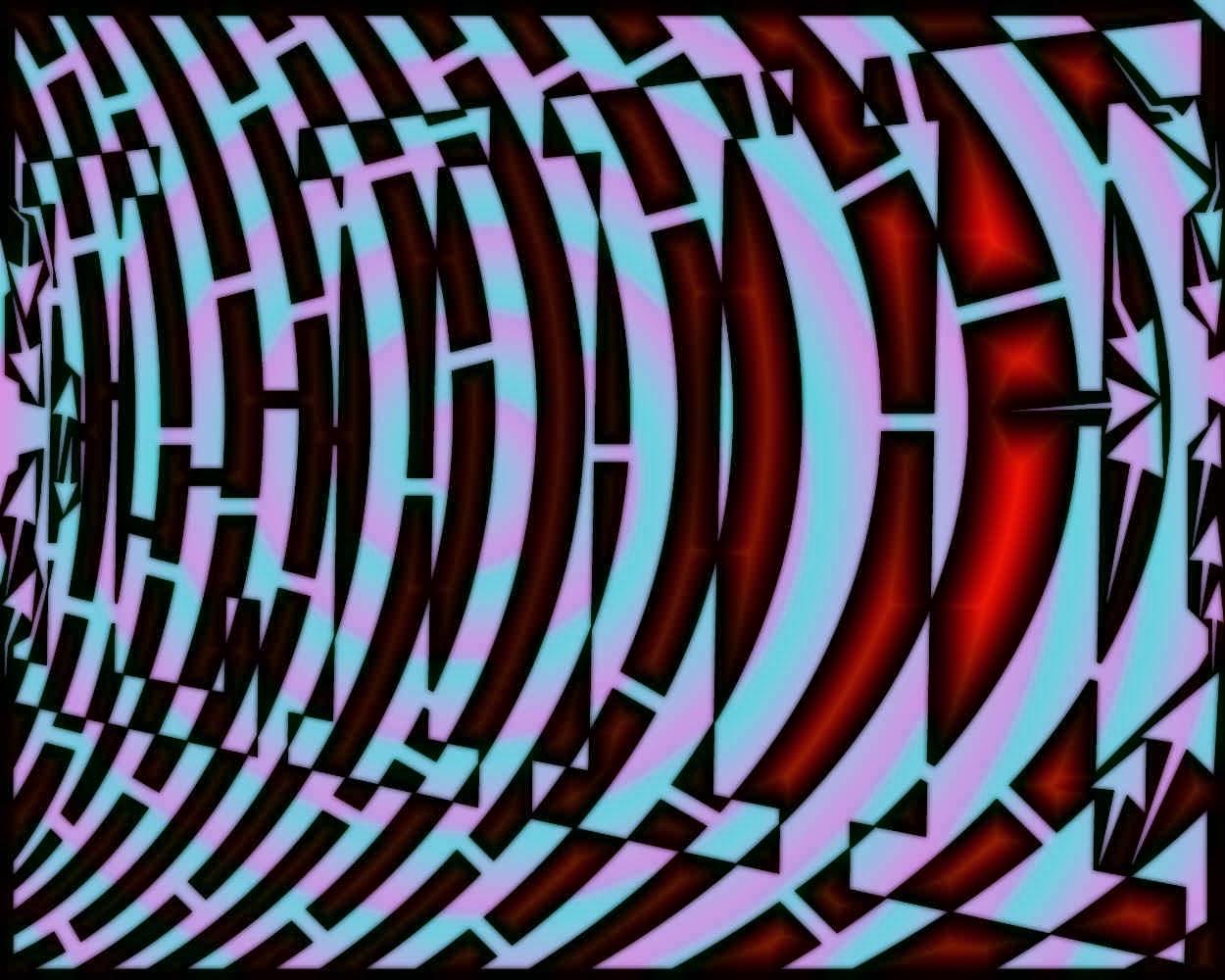 Maze Op Art October