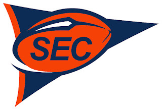 SEC Pennant Patch - 1998