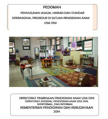 Download Buku Panduan RKH PAUD & SOP PAUD Kurikulum 2013 Lengkap Terbaru