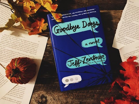 Book Review: Goodbye Days by Jeff Zentner