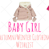 Baby Girl Autumn/Winter Clothing Wishlist